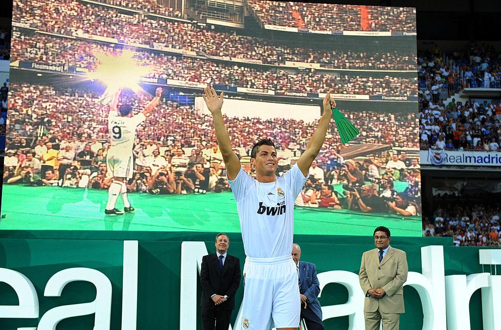 Ronaldo became the La Liga record transfer when he joined