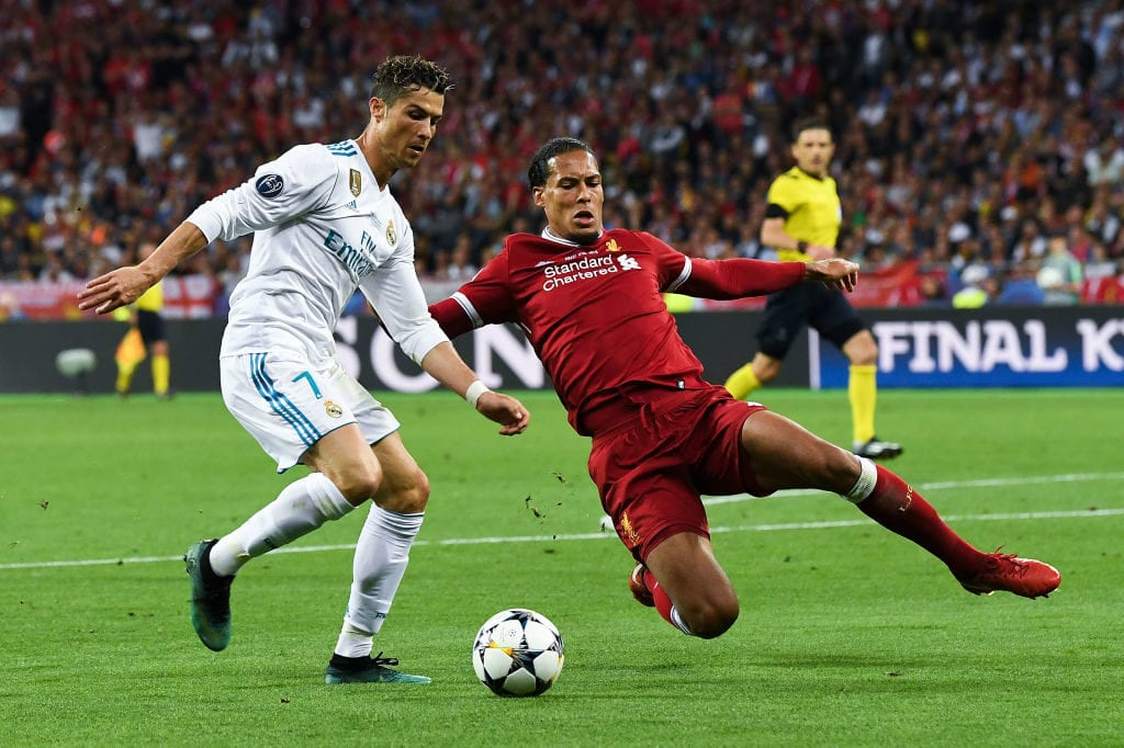 Virgil van Dijk, Cristiano Ronaldo