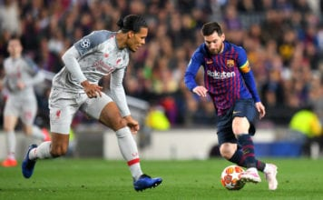 Lionel Messi, Virgil van Dijk, Barcelona, Liverpool, Champions League