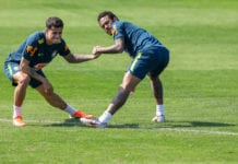 Brazil Press Conference & Training Session - Granja Comary