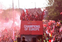 Liverpool Parade To Celebrate Winning UEFA Champions League