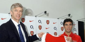 Arsenal Unveil New Signing Jose Reyes