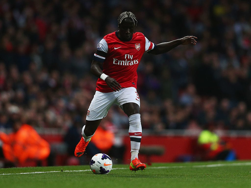 Bacary Sagna for Arsenal
