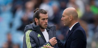Zidane and Bale