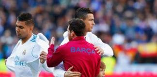Lionel Messi, Cristiano Ronaldo, Barcelona, Real Madrid