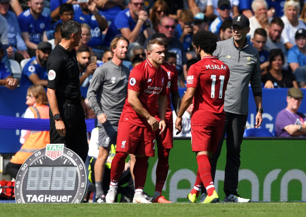 Xherdan Shaqiri Feeling Downbeat On Liverpool Struggles Ronaldo Com