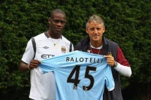 Mario Balotelli Presentation At Manchester City
