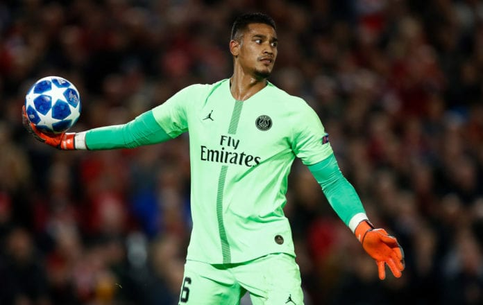 size 40 52d7a 83420 PSG confirm transfer talks for Areola amid Madrid interest ...