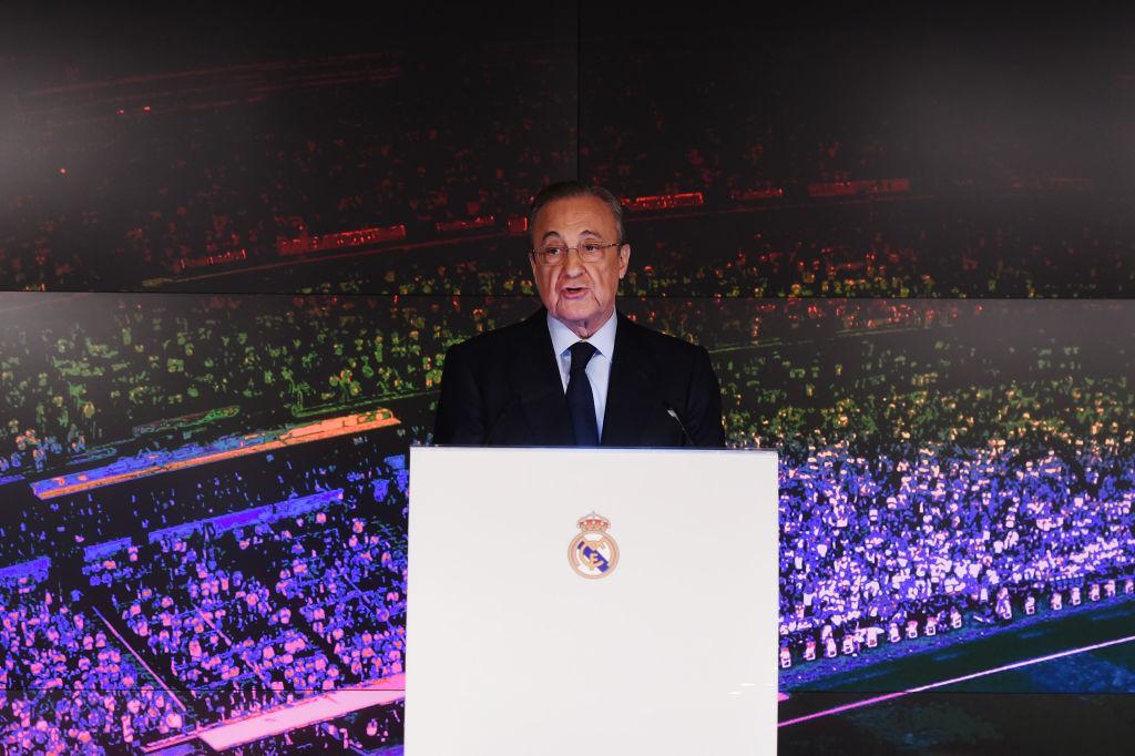 Florentino Perez, Real Madrid