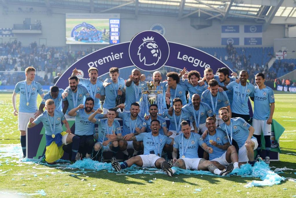 Brighton & Hove Albion v Manchester City - Premier League