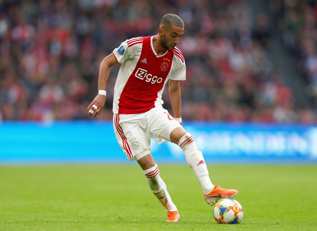 Ajax secure Ziyech with new contract after Bayern interest