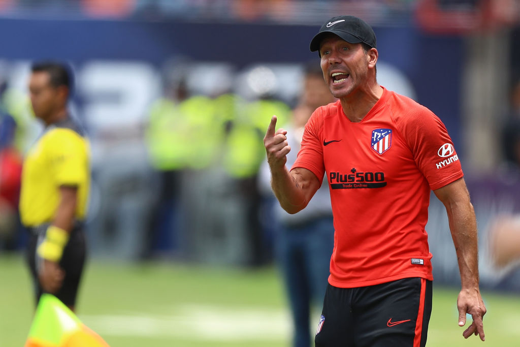 Diego Simeone, Atletico Madrid
