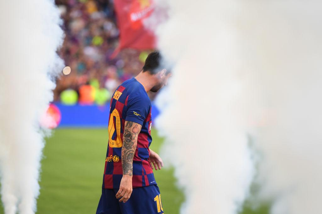 FC Barcelona v Arsenal - Pre-Season Friendly