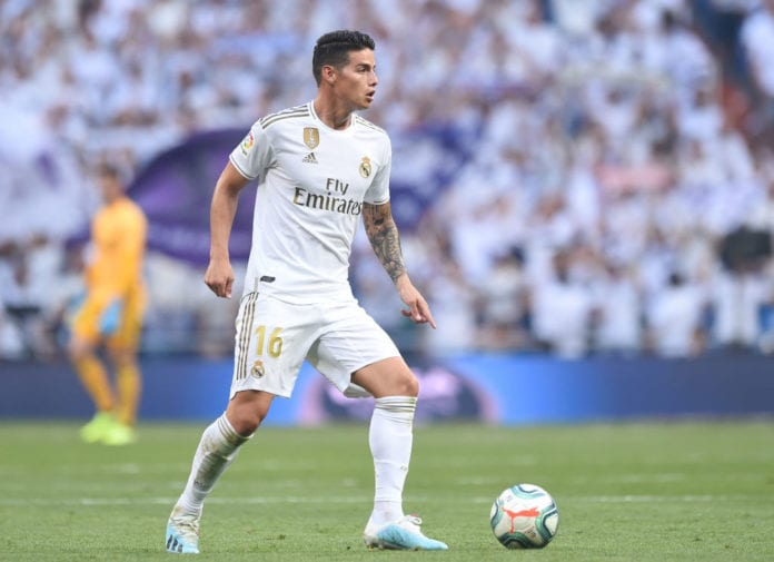 Image result for james rodriguez real madrid 2019