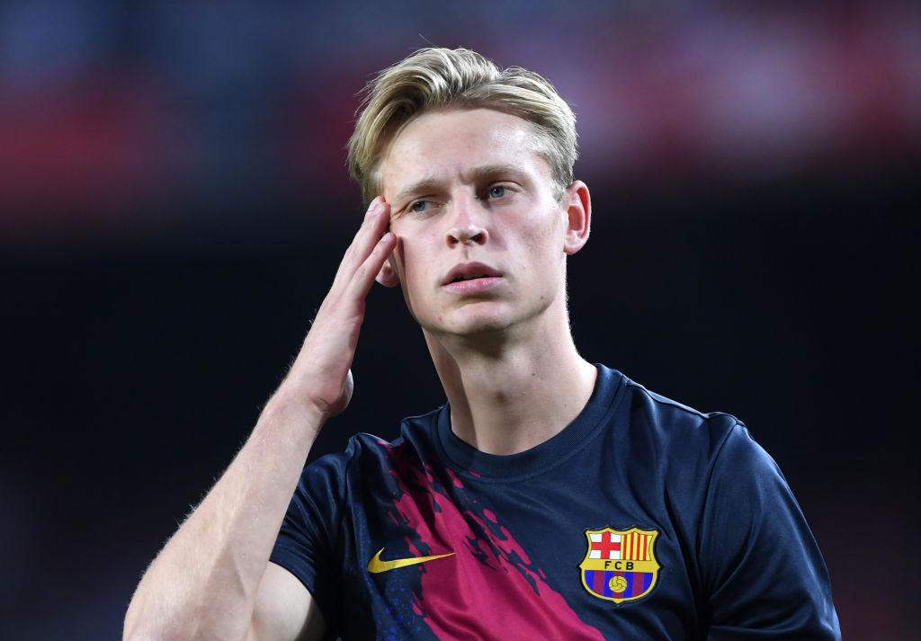 frenkie de jong, fc barcelona, la liga