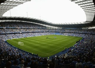 General view of The City of Manchester Stadium
