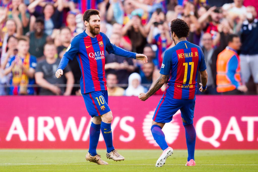 Lionel Messi, Neymar, Barcelona