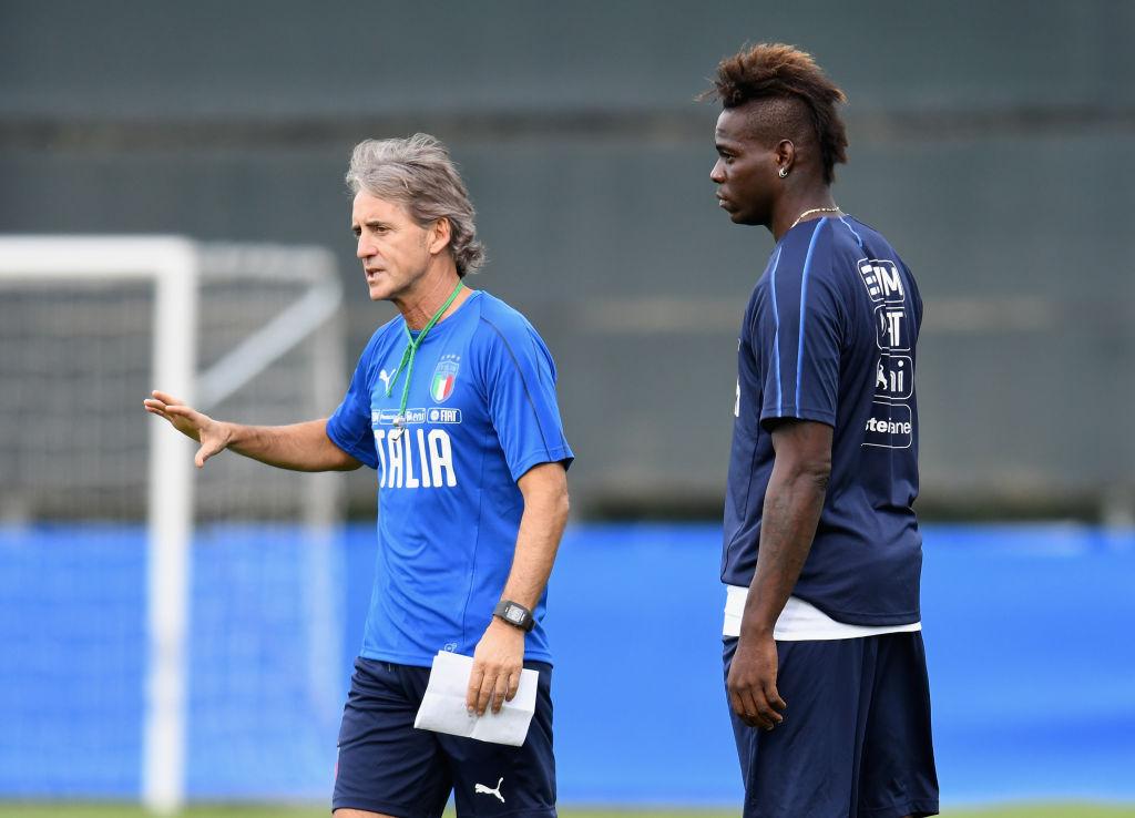 Mario Balotelli, Roberto Mancini, Italy