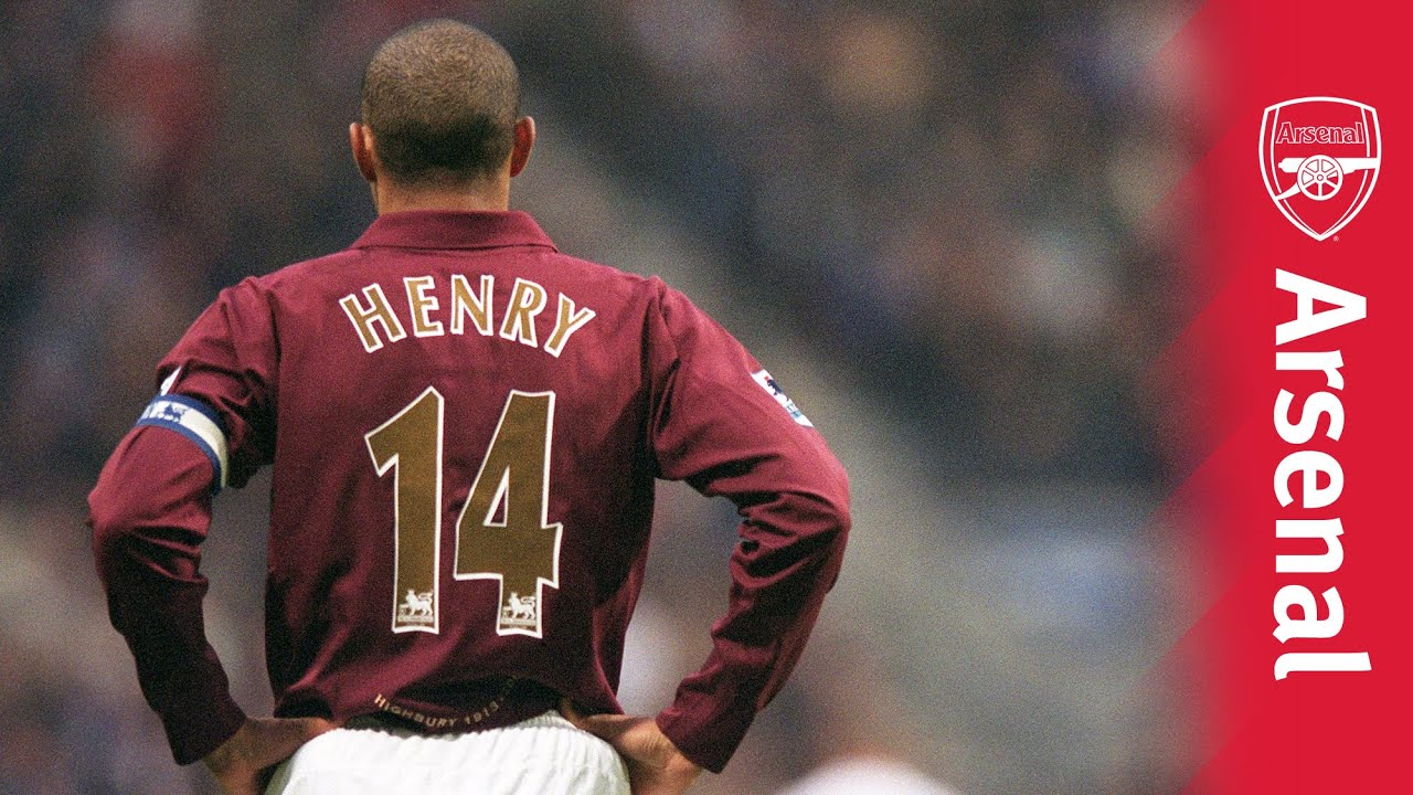 best sneakers 063a9 d4582 Thierry Henry came to Arsenal 20 years ago today - Ronaldo.com