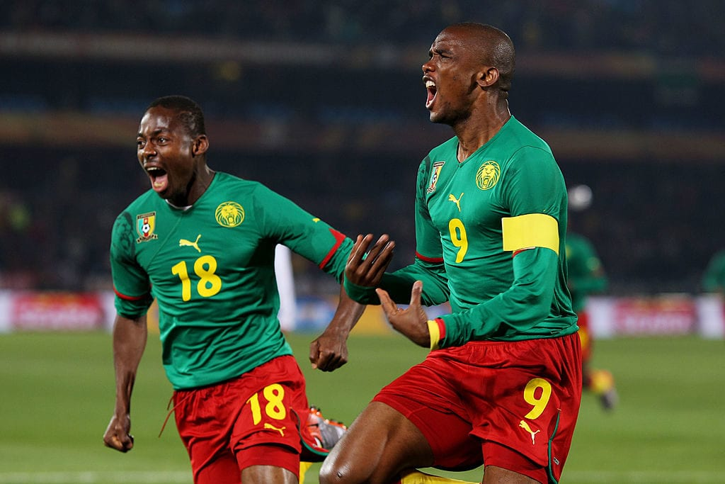 Samuel Eto'o, Cameroon