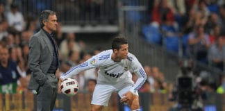Cristiano Ronaldo, Real Madrid, Jose Mourinho