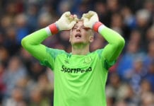 Pickford, Everton