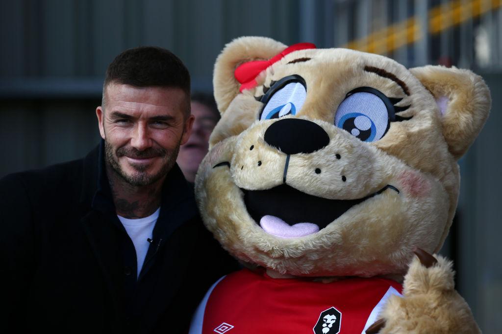 David Beckham, England, Salford FC,