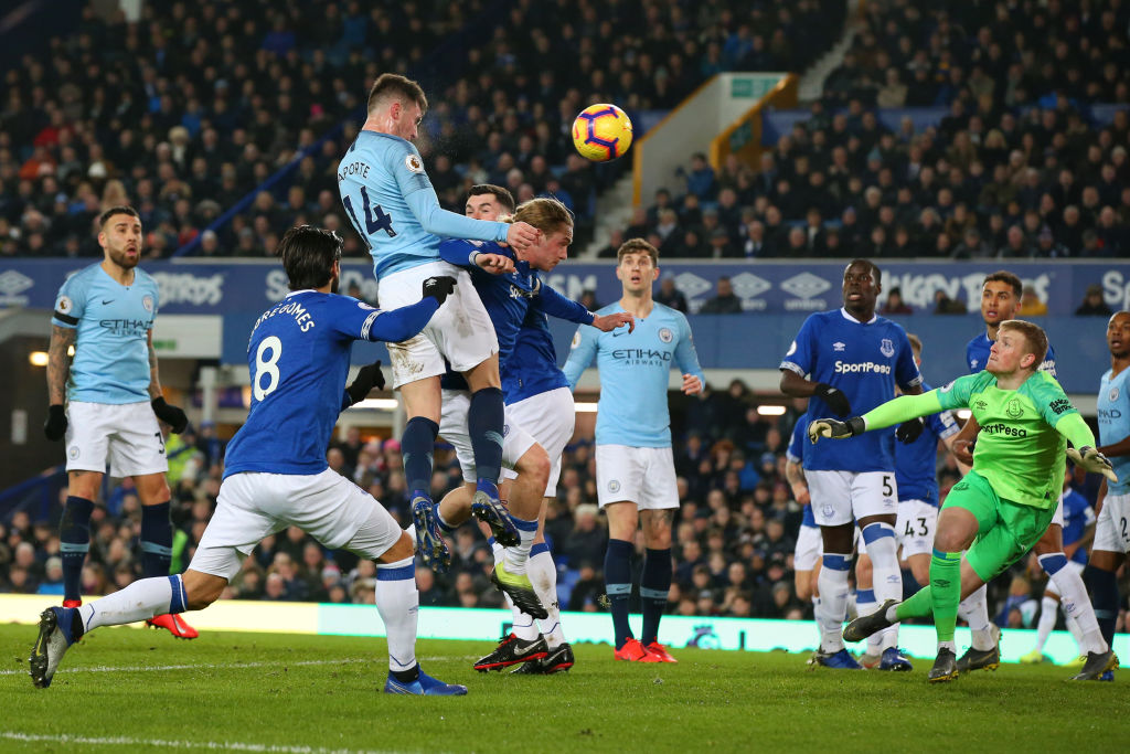 Everton FC v  Manchester City - Premier League