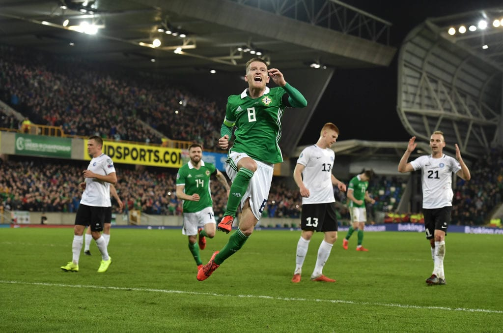 Steven Davis, Northern Ireland