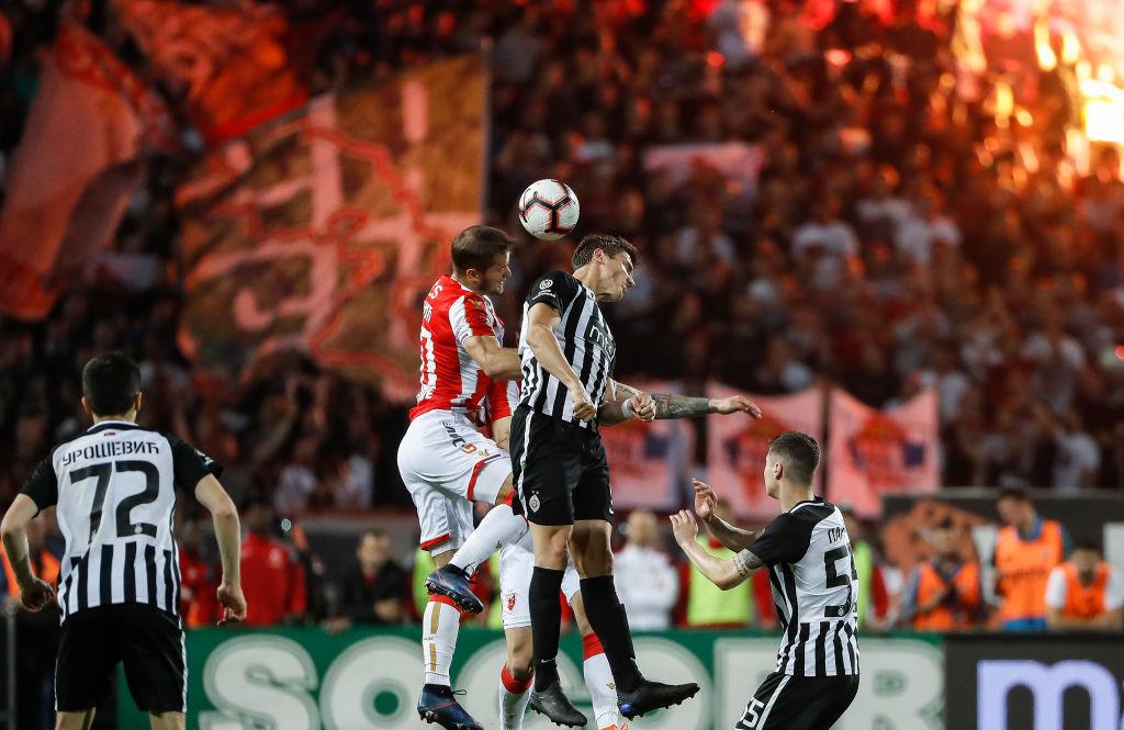 FK Crvena Zvezda, Partizan