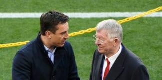 Gary Neville, Sir Alex Ferguson, Manchester United