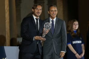Francesco Totti, Roberto Mancini