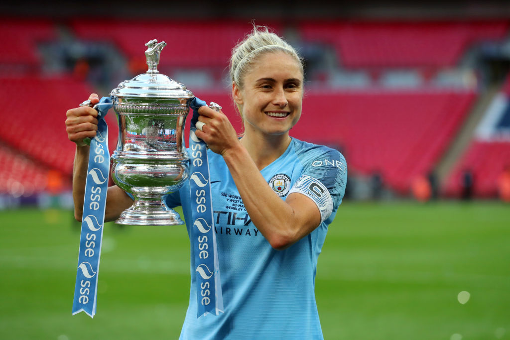 Steph Houghton, Manchester City