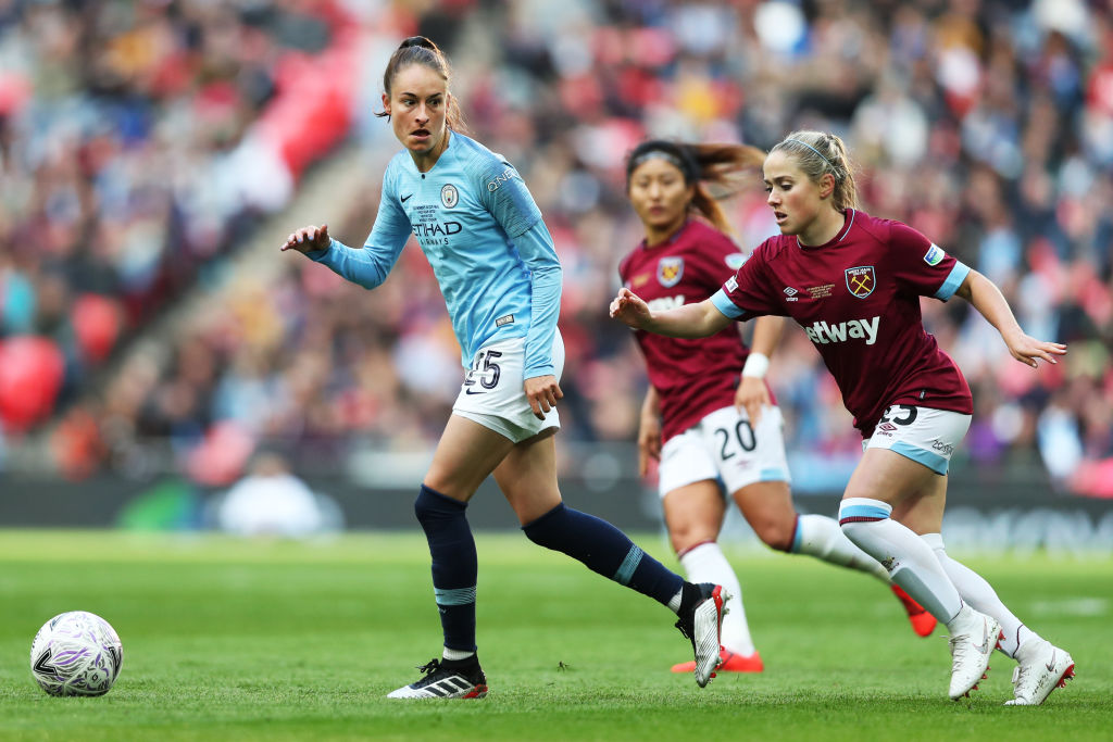 Manchester City Women v West Ham United Ladies - Women's FA Cup Final