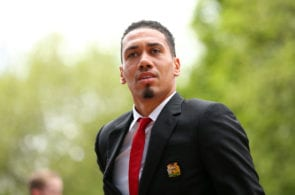 Chris Smalling, manchester united, roma