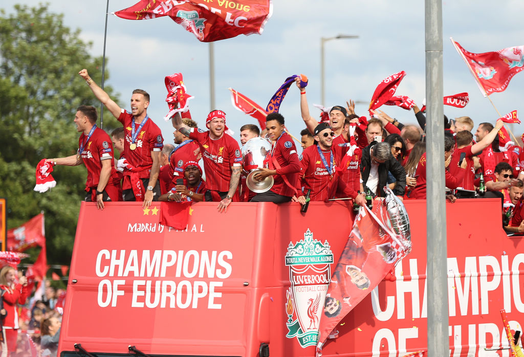 Liverpool Champions League victory parade