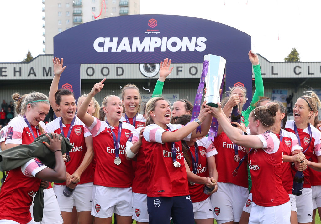 Arsenal, Women's Super League