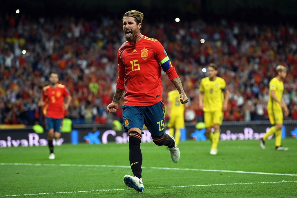 Spain, European Qualifiers, UEFA EURO 2020