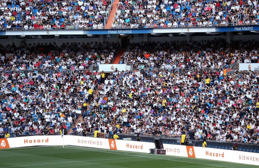 eden hazard, real madrid, fans
