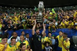 Alisson Becker, The Best FIFA Men's Goalkeeper award, Liverpool, Brazil