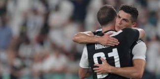 Gonzalo Higuain, Cristiano Ronaldo, Juventus