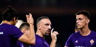 Franck Ribery, Fiorentina, Serie A