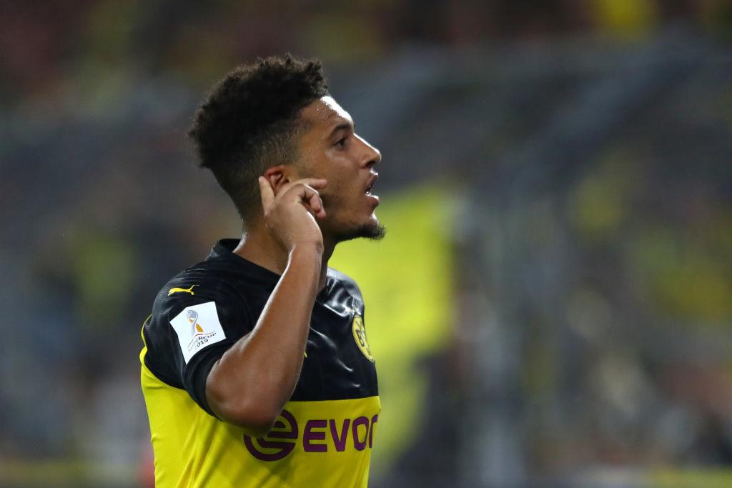 Jadon Sancho, Borussia Dortmund, Manchester United
