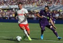 Fiorentina, Martin Caceres, Serie A