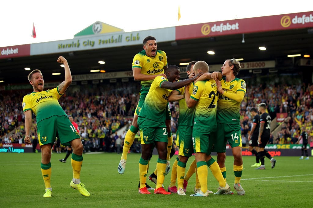 Norwich City, Premier League
