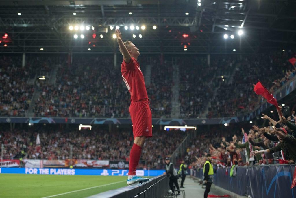 Ole Gunnar Solskjaer, Erling Braut Haaland, Red Bull Salzburg, UEFA Champions League, Genk