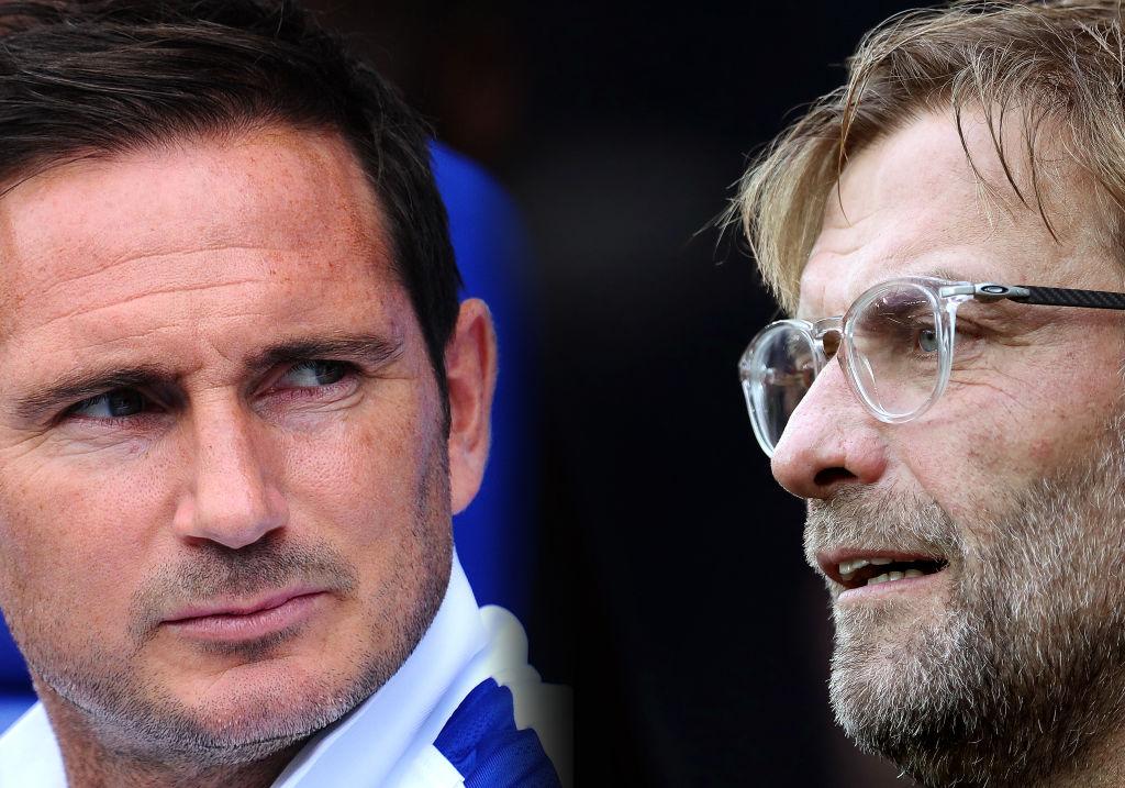 Frank Lampard, Chelsea, Jurgen Klopp, Liverpool