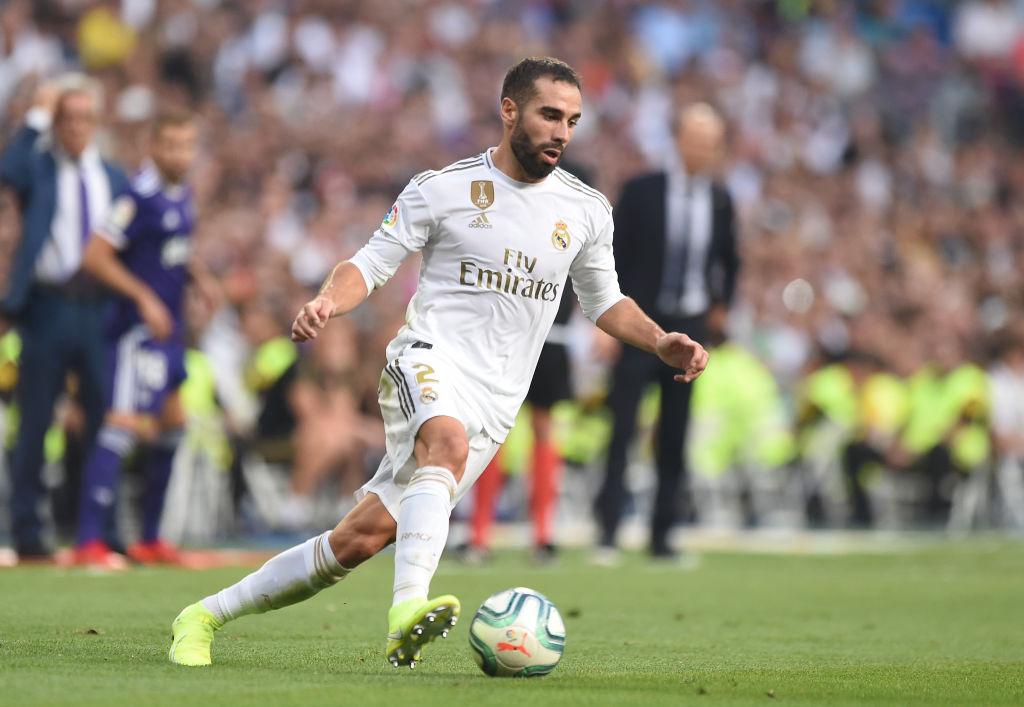 daniel carvajal, Real Madrid