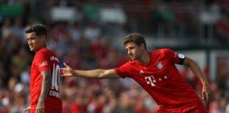 Thomas Muller, Philippe Coutinho, Bayern Munich, Bundesliga