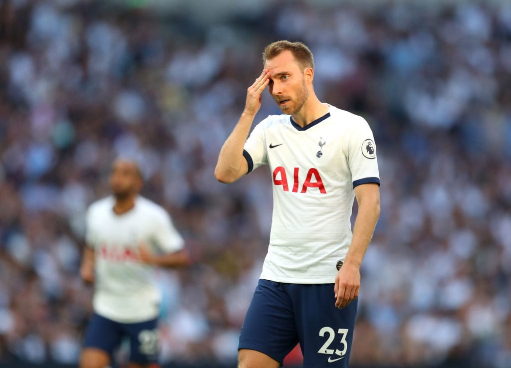 Christian Eriksen, Tottenham